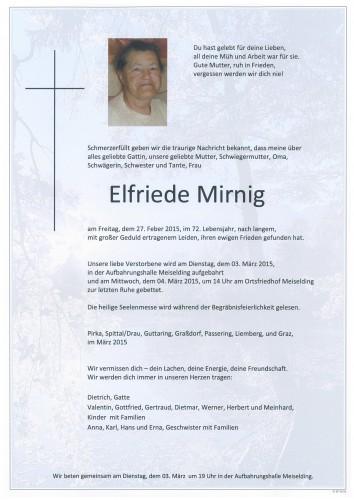 Elfriede Mirnig