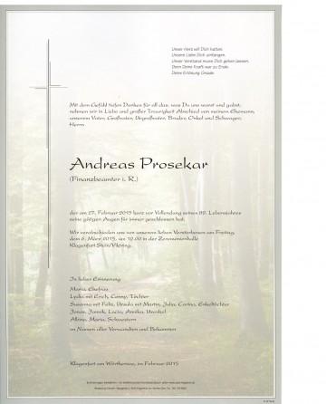 Andreas Prosekar