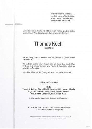 Thomas Köchl, vulgo Mitzian
