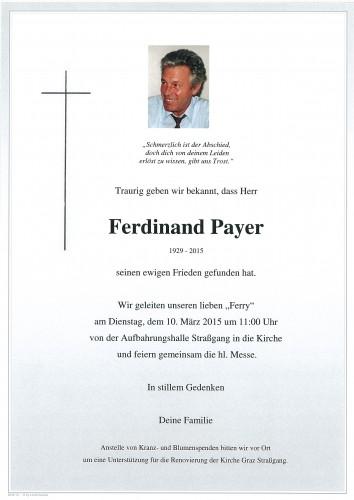 Ferdinand Payer
