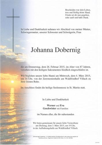 Johanna Dobernig