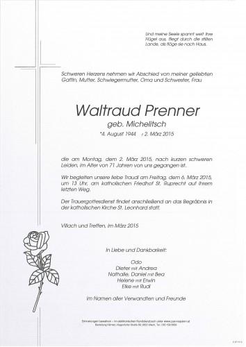 Waltraud Prenner