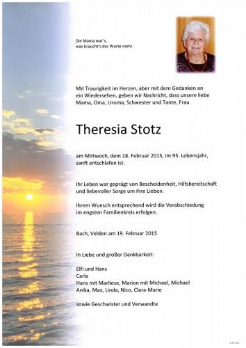 Theresia Stotz