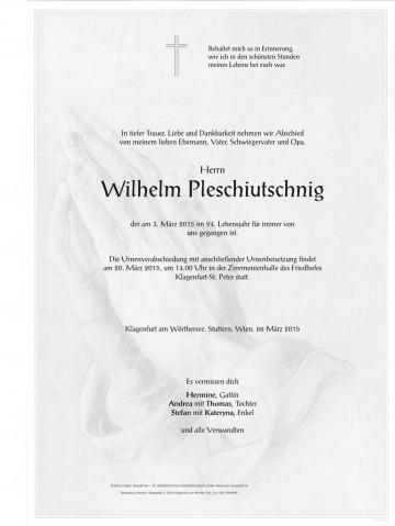 Wilhelm Pleschiutschnig