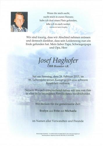 Josef Haghofer