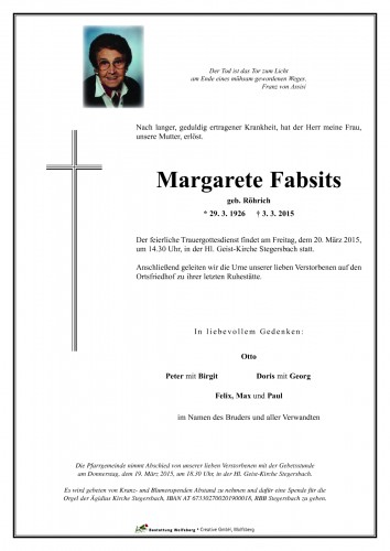 Margarete Fabsits