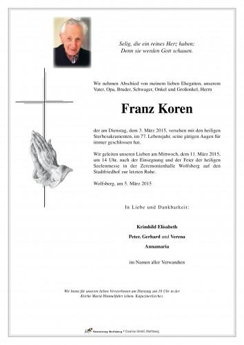 Franz Koren