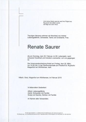 Renate Saurer