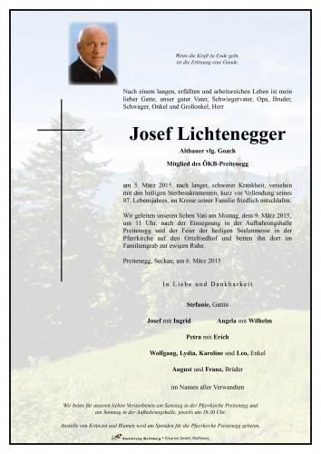 Josef Lichtenegger