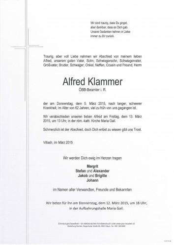 Alfred Klammer