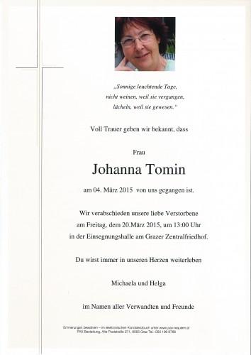 Johanna Tomin