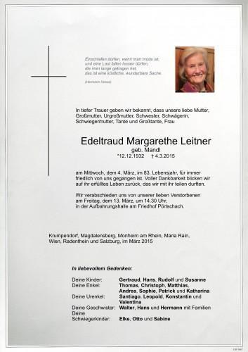 Edeltraud Leitner