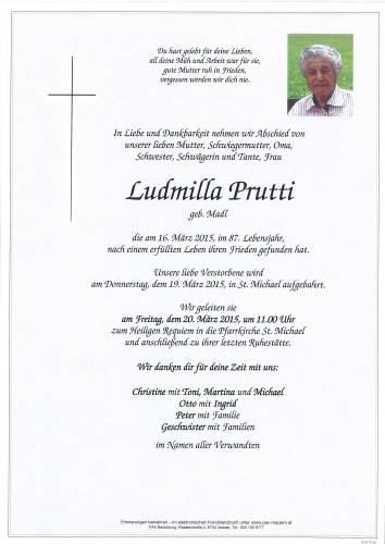 Ludmilla Prutti