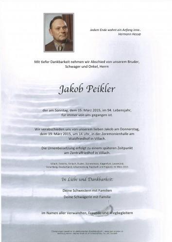 Jakob Peikler