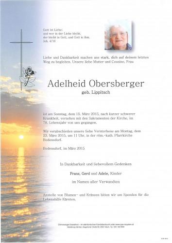 Adelheid Obersberger