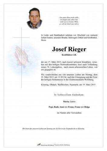 Josef Rieger