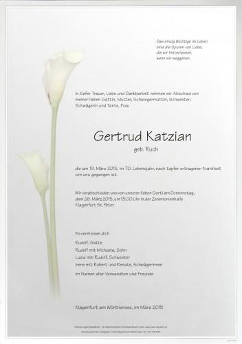 Gertrud Katzian