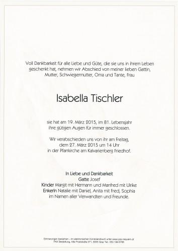 Isabella Tischler