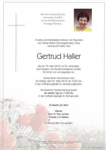 Gertrud Haller