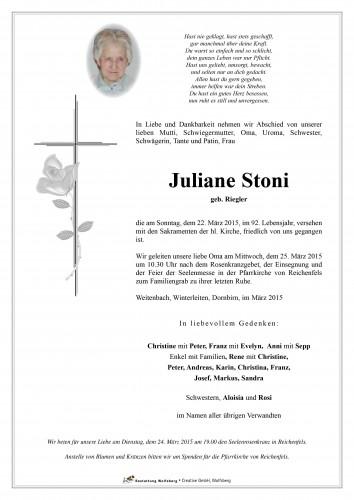 Juliane Stoni