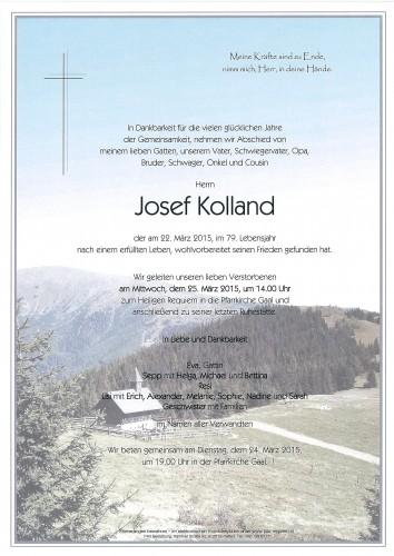 Josef Kolland