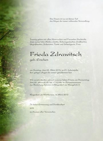 Frieda Zdrawitsch