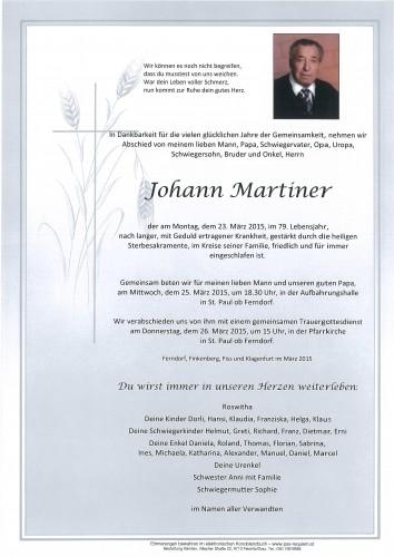 Johann Martiner