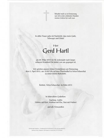 Gerd Hartl