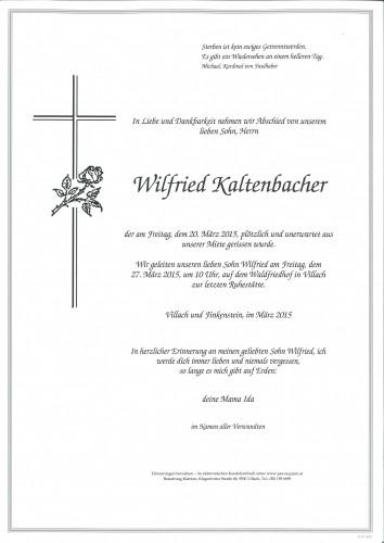 Wilfried Kaltenbacher