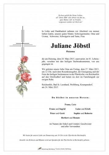 Juliane Jöbstl