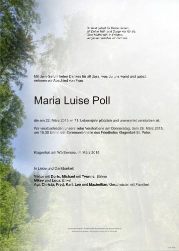 Maria Luise Poll