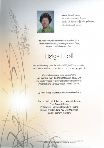 Helga Hipfl