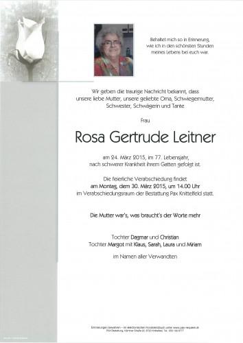 Rosa Gertrude Leitner