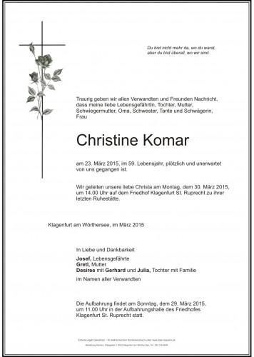 Christine Komar