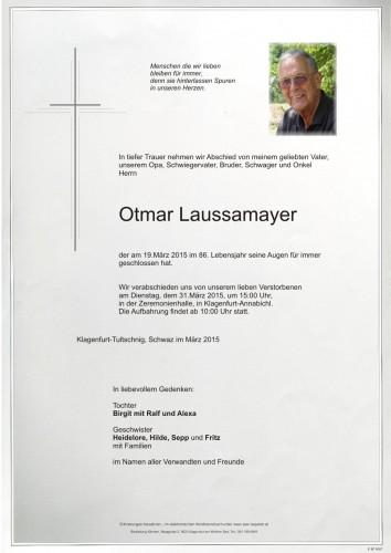 Otmar Laussamayer
