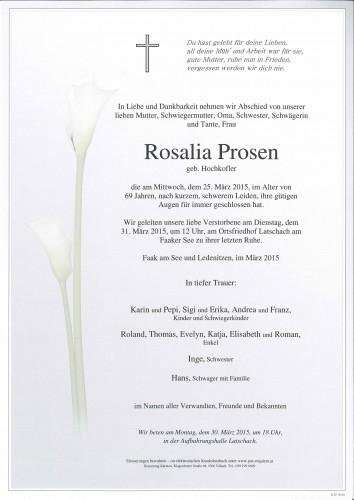 Rosalia Prosen