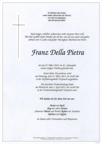 Franz Della Pietra