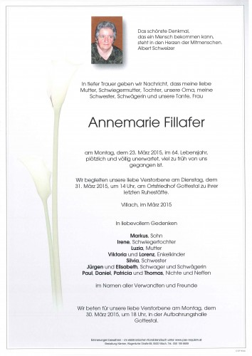 Annemarie Fillafer