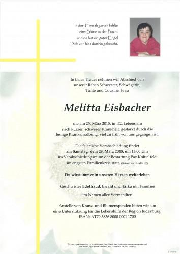 Melitta Eisbacher
