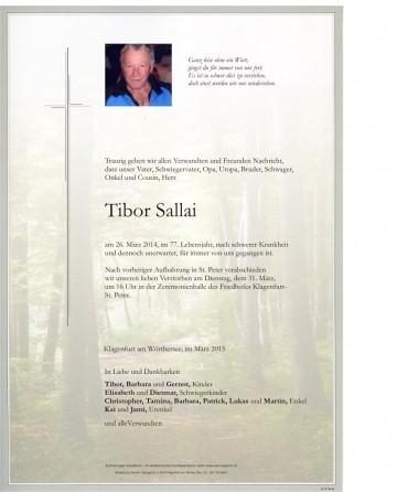 Tibor Sallai