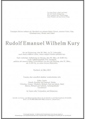 Rudolf Kury