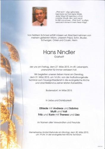 Hans Nindler