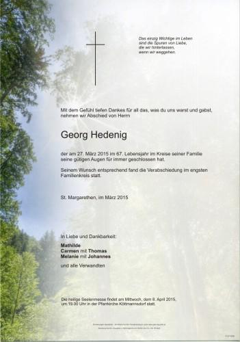 Georg Hedenig