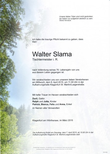 Walter Slama