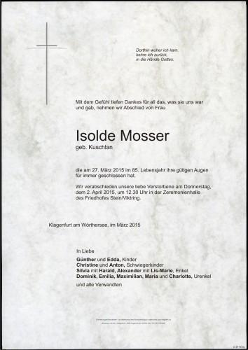 Isolde Mosser