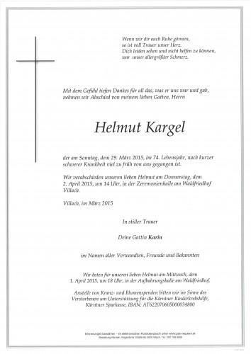 Helmut Kargel