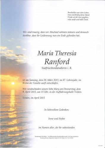 Maria Theresia Ranford