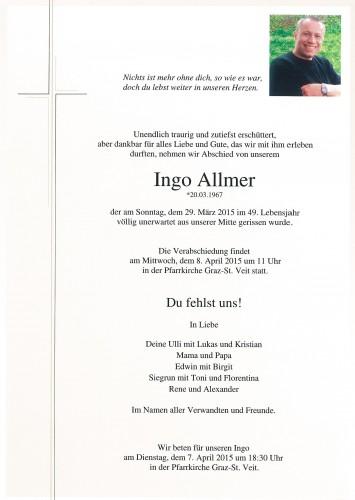 Ingo Allmer