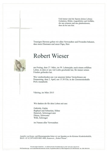 Robert Wieser
