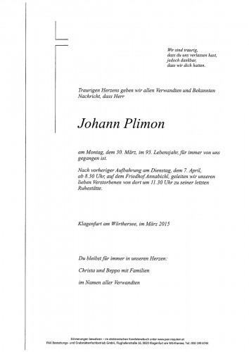 Johann Plimon